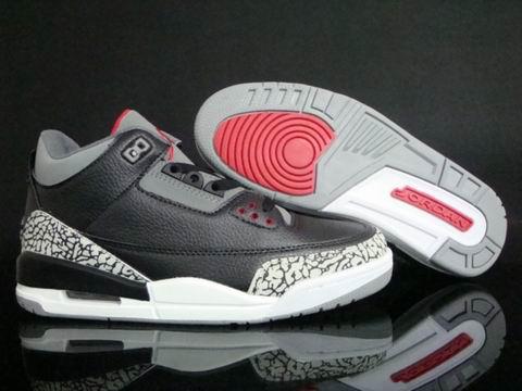 Air Jordan III (3) Black Cement