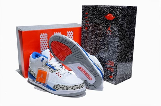 Air Jordan III (3) True Blue