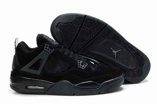 Jordan IV(4) Black Anti fur