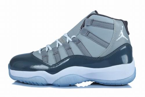 Retro Air Jordan XI(11) Women Cool Grey