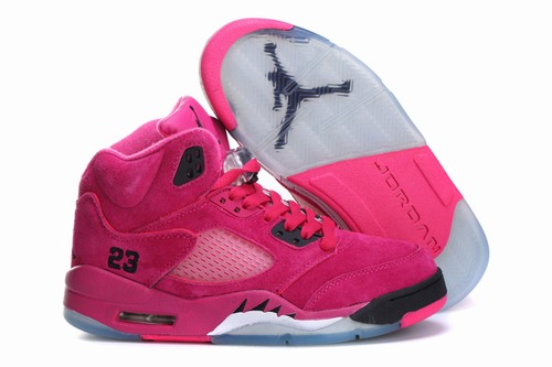 Retro Air Jordan V(5) Women Anti fur