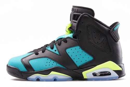 Air Jordan VI(6) Retro Women Turbo Green