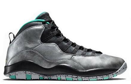 Jordan X (10) Liberty Grey Teal