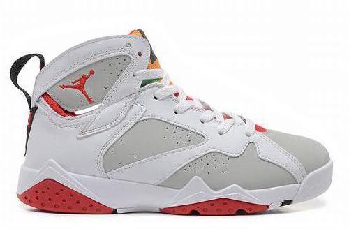 Jordan VII (7) White/True Red-Light Silver