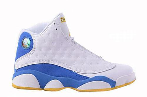 Jordan XIII(13) White Blue Yellow-108