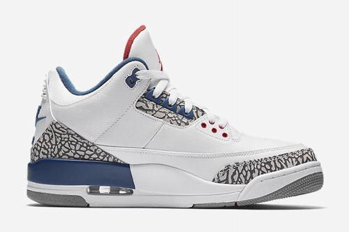 Nike Air Jordan III(3) True Blue-100
