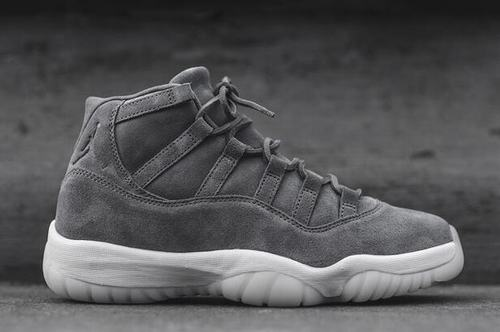 Air Jordan 11 PRM Gray Suede-174