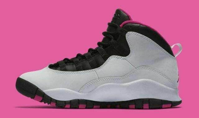 Jordan X(10) GS Vivid Pink Women
