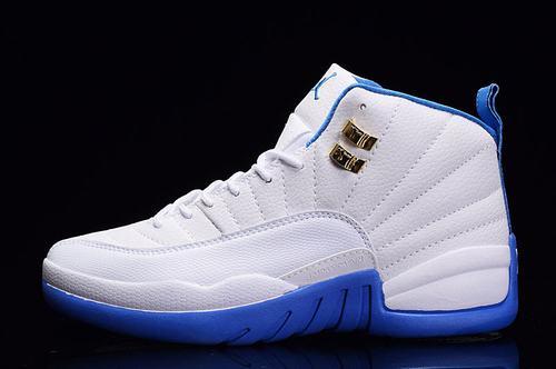 Jordan XII(12) Uni Blue Women