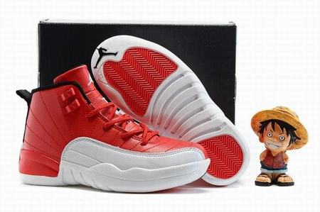 Retro Air Jordan XII(12) Gym Red Kids