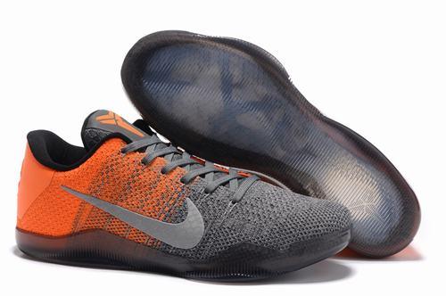 Kobe 11 Elite Low Grey Orange