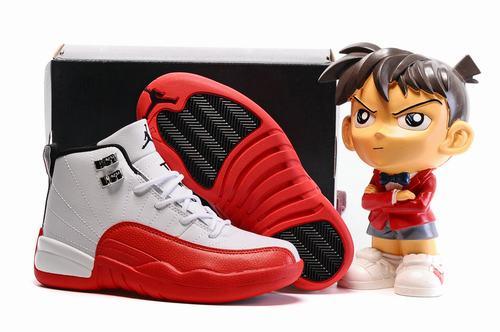 Air Jordan XII(12) Cherry Kids