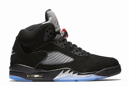 Nike Air Jordan V(5) OG Metallic Black-156