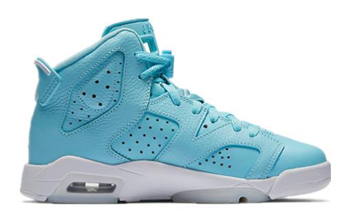 Jordan VI(6) GS Still Blue Woman