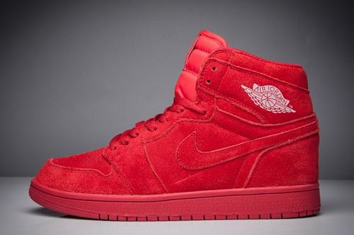 Air Jordan 1 High BG RED SUEDE-106