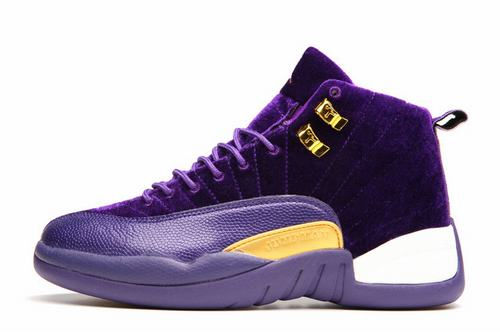 Air Jordan XII(12) Suede Women