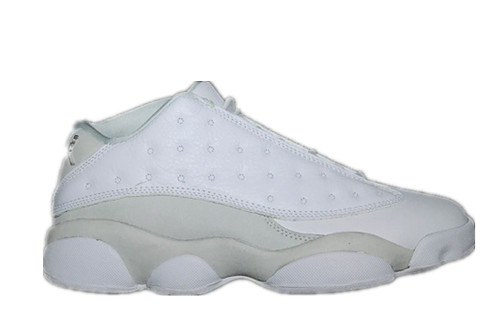 Air Jordan 13 Low White Metallic-136