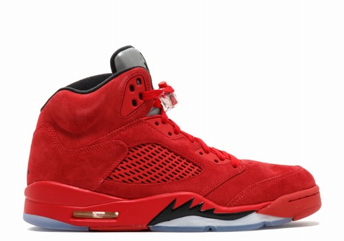 newest 4fdec 1689b Retro Air Jordan V(5) Red Suede-161. ID  35447   93.8