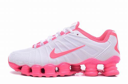 Shox TLX White Pink Women