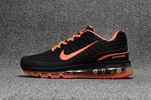 Air Max 360 Black Orange