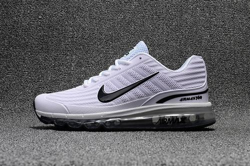 Air Max 360 White Black