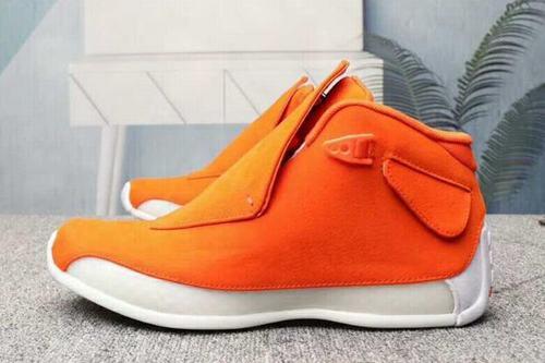 Air Jordan XVIII(18) Orange White