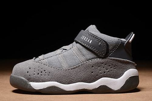 Air Jordan VI(6) Ring BP Grey Kids