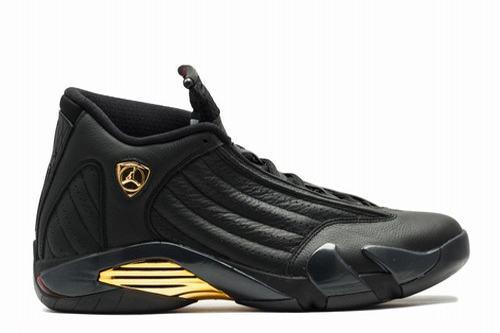Air Jordan 14 Black Gold