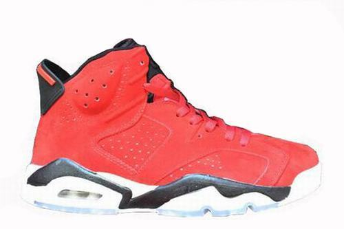 Air Jordan 6 Red Suede-157