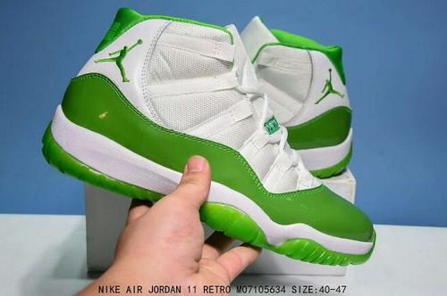 Air Jordan XI(11) White Green-205