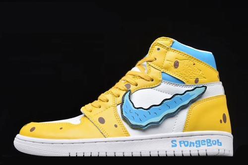 Air Jordan 1(1) SpongeBob Women