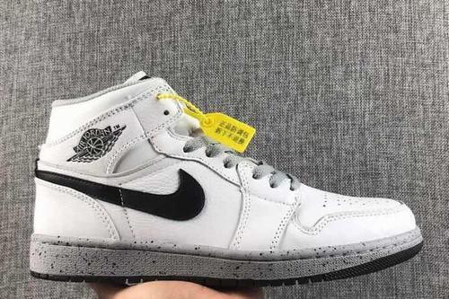 Air Jordan 1(1) OG White Cement-160