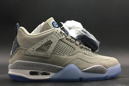 Air Jordan IV(4) Retro UNC PE Cool Grey