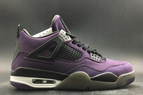 Air Jordan IV(4) Retro Purple Black White-193
