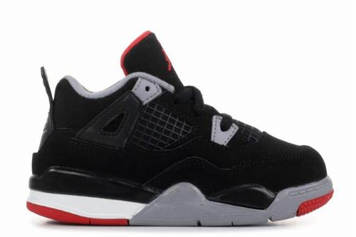 Nike Air Jordan IV(4) Bred Kids
