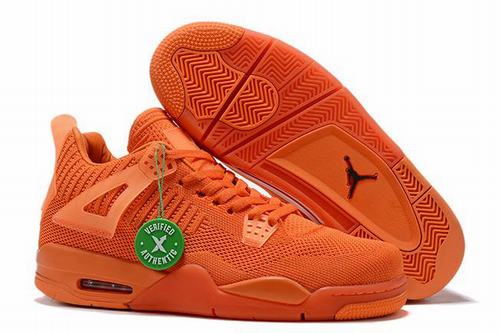 Retro Air Jordan IV(4) Flyknit Orange