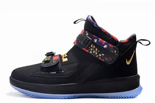 Lebron Soldier 13 Black Gold