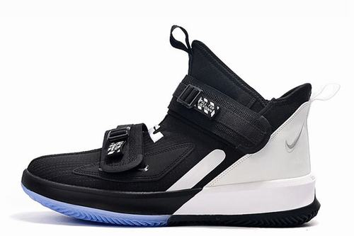 Lebron Soldier 13 SFG Black White
