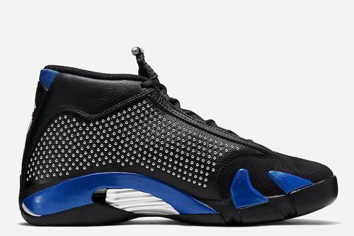 Air Jordan XIV(14) Black Royal Blue