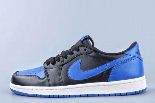 Air Jordan 1(1) Low SB Black Royal Blue