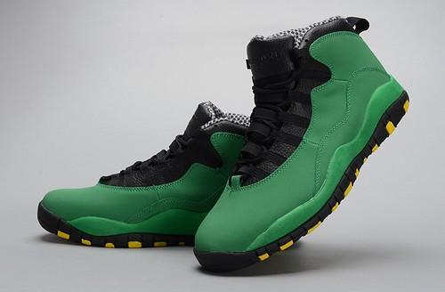 5ccd4de36a897f Retro Air Jordan X (10) Green-027